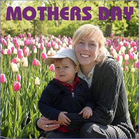Mother's Day Footer Banner